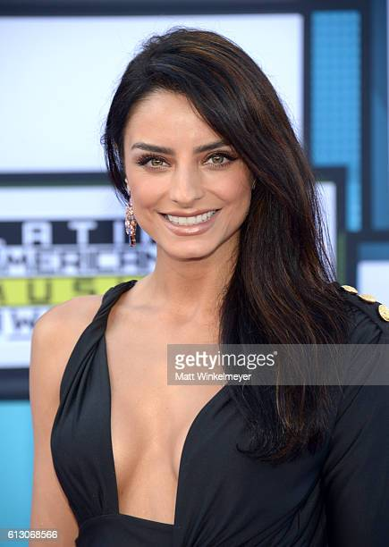 Actress Aislinn Derbez attends the 2016 Latin American Music Awards at Dolby Theatre on October 6 2016 in Hollywood California