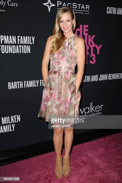 Actress AJ Cook attends the 2013 Pink Party at Hangar 8 on October 19 2013 in Santa Monica California