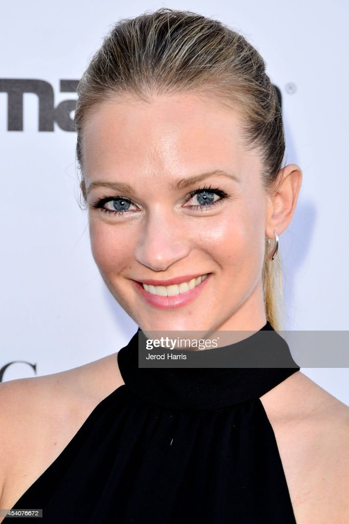 Actress AJ Cook attends the Festival of Arts Celebrity Benefit Concert and Pageant on August 23, 2014 in Laguna Beach, California.