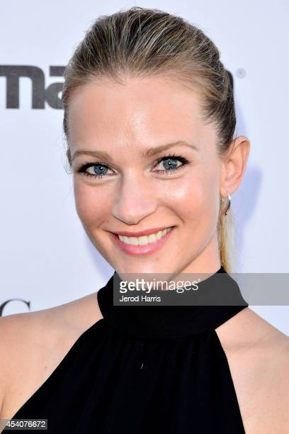 Actress AJ Cook attends the Festival of Arts Celebrity Benefit Concert and Pageant on August 23 2014 in Laguna Beach California