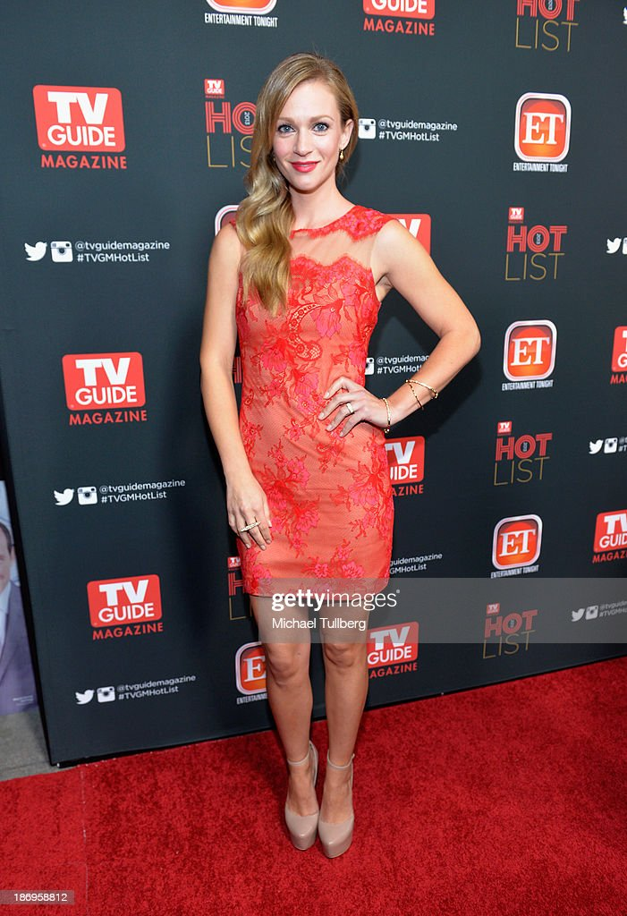 Actress AJ Cook attends TV Guide Magazine's Annual Hot List Party at The Emerson Theatre on November 4, 2013 in Hollywood, California.