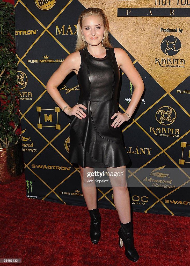 Actress AJ Michalka arrives at the Maxim Hot 100 Party at the Hollywood Palladium on July 30, 2016 in Los Angeles, California.