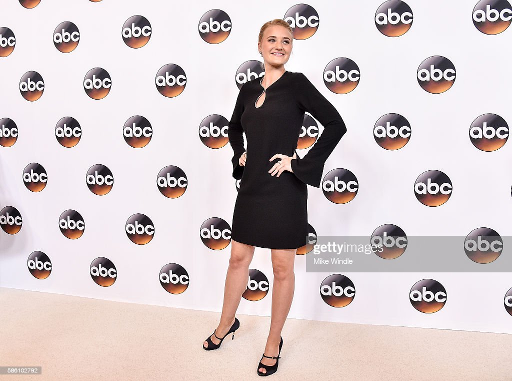 Actress AJ Michalka attends the Disney ABC Television Group TCA Summer Press Tour on August 4, 2016 in Beverly Hills, California.