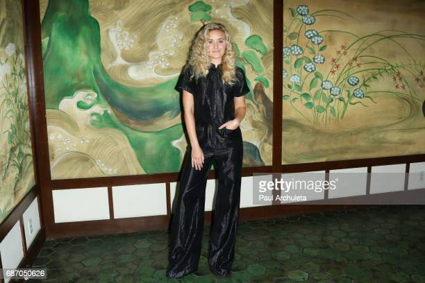 Actress AJ Michalka attends the Wolk Morais Collection 5 Fashion Show at Yamashiro Hollywood on May 22 2017 in Los Angeles California