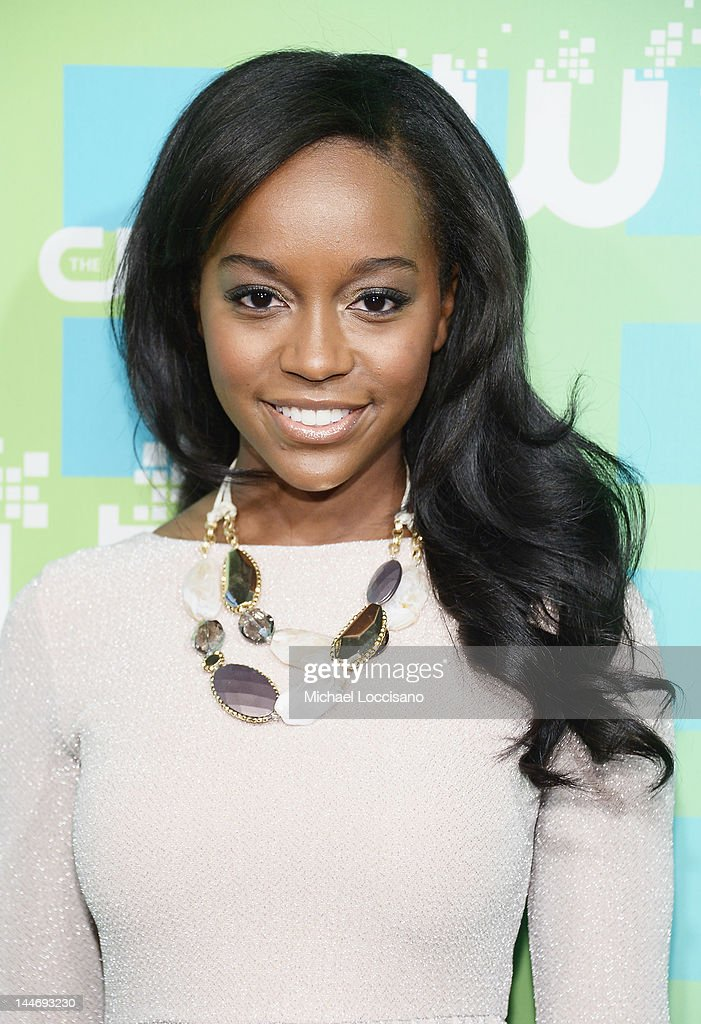 Actress Aja Naomi King attends The CW Network's New York 2012 Upfront at New York City Center on May 17, 2012 in New York City.