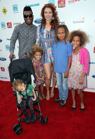 Family of Alaina Huffman and John Henry Huffman with their four children