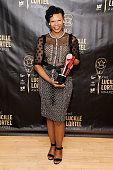 Actress Alana Arenas attends the press room for the 31st Annual Lucille Lortel Awards at NYU Skirball Center on May 1 2016 in New York City