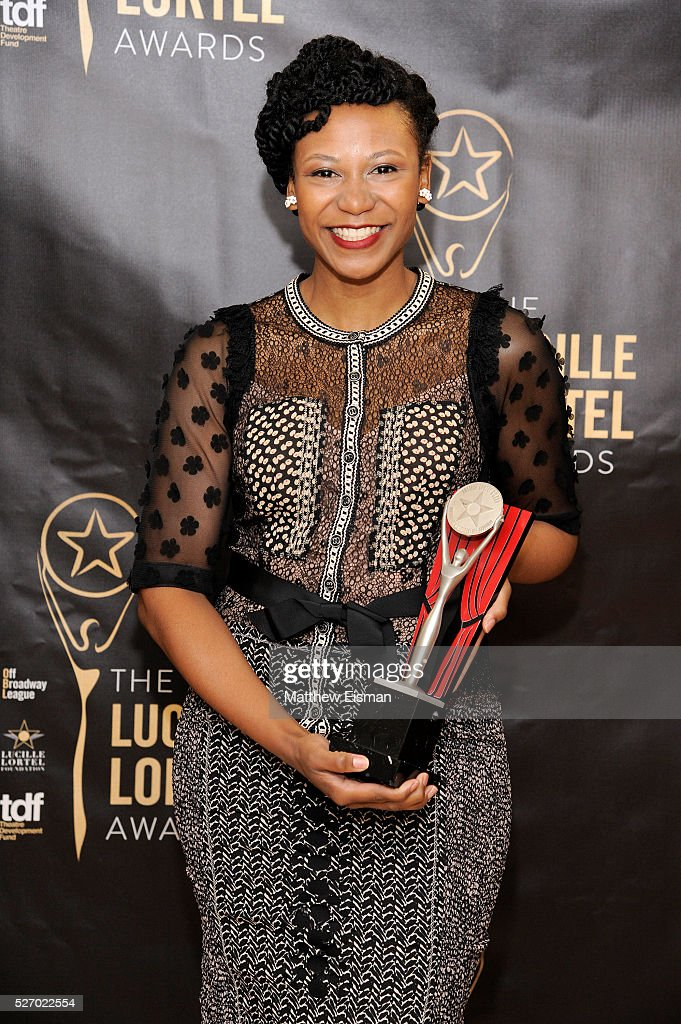 Actress Alana Arenas attends the press room for the 31st Annual Lucille Lortel Awards at NYU Skirball Center on May 1, 2016 in New York City.