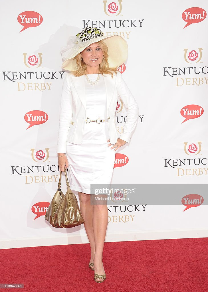 Actress Alana Curry attends the 137th Kentucky Derby at Churchill Downs on May 7 2011 in Louisville Kentucky