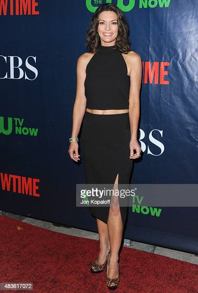 Actress Alana De La Garza arrives at CBS CW And Showtime 2015 Summer TCA Party at Pacific Design Center on August 10 2015 in West Hollywood California