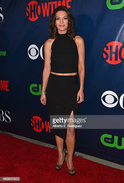 Actress Alana De La Garza attends CBS' 2015 Summer TCA party at the Pacific Design Center on August 10 2015 in West Hollywood California