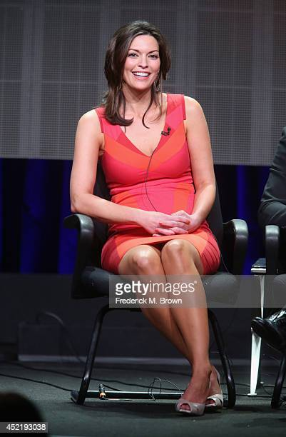 Actress Alana de la Garza speaks onstage at the 'Forever'' panel during the Disney/ABC Television Group portion of the 2014 Summer Television Critics...