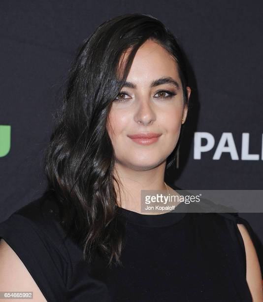 Actress Alanna Masterson arrives at The Paley Center For Media's 34th Annual PaleyFest Los Angeles Opening Night Presentation 'The Walking Dead' at...