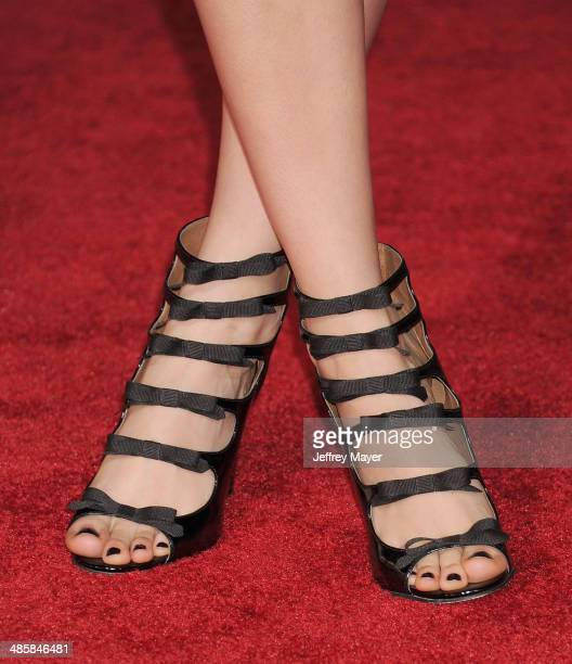 Actress Alanna Masterson at the Los Angeles premiere of 'Need For Speed' at TCL Chinese Theatre on March 6 2014 in Hollywood California