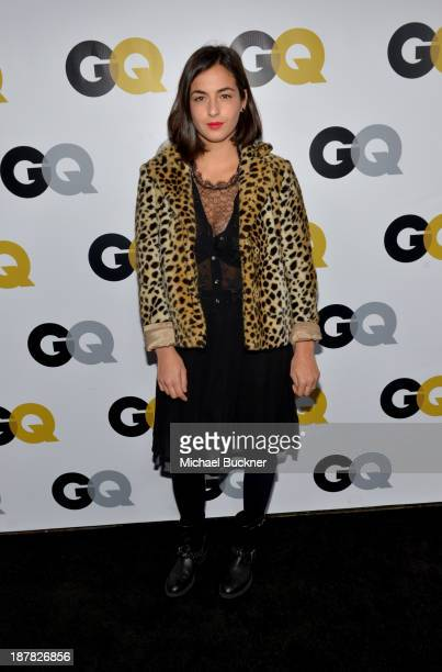 Actress Alanna Masterson attends the GQ Men Of The Year Party at The Ebell Club of Los Angeles on November 12 2013 in Los Angeles California