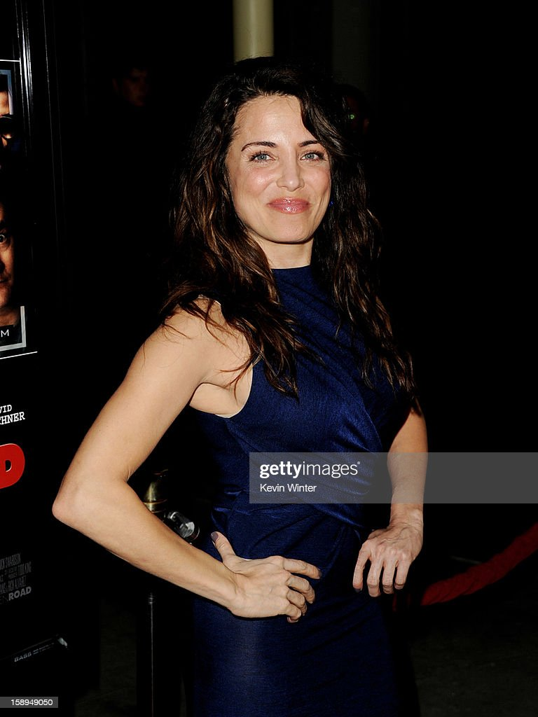 Actress Alanna Ubach arrives at the premiere of Open Road Films' 'A Haunted House' at the Arclight Theatre on January 3, 2013 in Los Angeles, California.