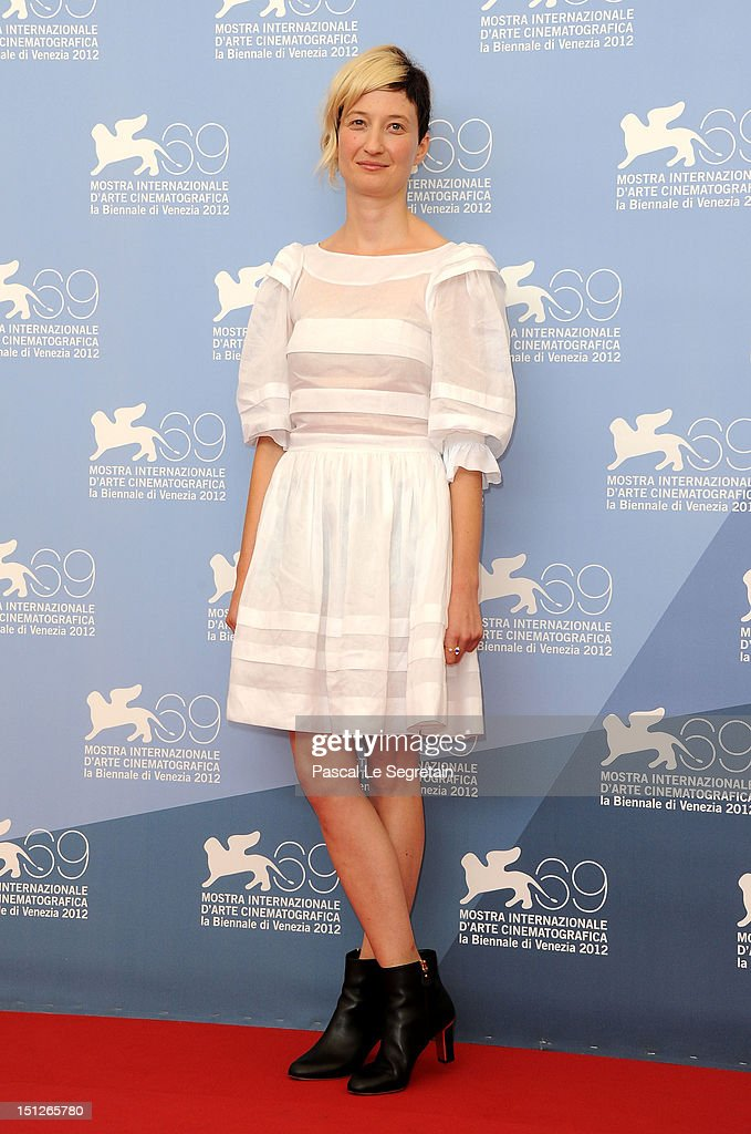 Actress Alba Rohrwacher attends the 'Bella Addormentata' Photocall during the 69th Venice Film Festival at the Palazzo del Casino on September 5, 2012 in Venice, Italy.
