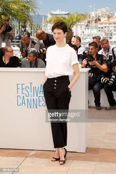 Actress Alba Rohrwacher attends the 'La Meraviglie' photocall during the 67th Annual Cannes Film Festival on May 18 2014 in Cannes France