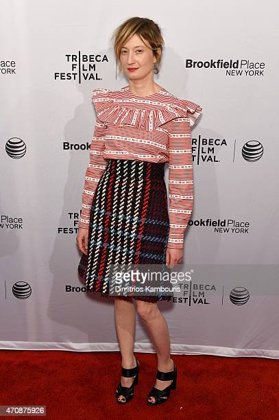 Actress Alba Rohrwacher attends the premiere of 'Hungry Hearts' during the 2015 Tribeca Film Festival at the SVA Theater on April 23 2015 in New York...