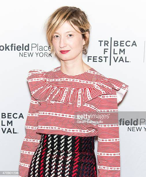 Actress Alba Rohrwacher attends the premiere of 'Hungry Hearts' during the 2015 Tribeca Film Festival at SVA Theater 1 on April 23 2015 in New York...