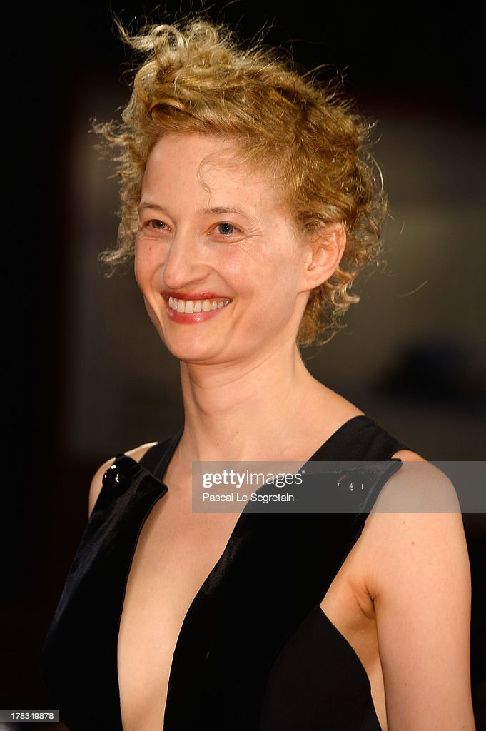 Actress <a gi-track='captionPersonalityLinkClicked' href=/galleries/search?phrase=Alba+Rohrwacher&family=editorial&specificpeople=4296508 ng-click='$event.stopPropagation()'>Alba Rohrwacher</a> attends the 'Via Castellana Bandiera' premiere during the 70th Venice International Film Festival at the Palazzo del Cinema on August 29, 2013 in Venice, Italy.