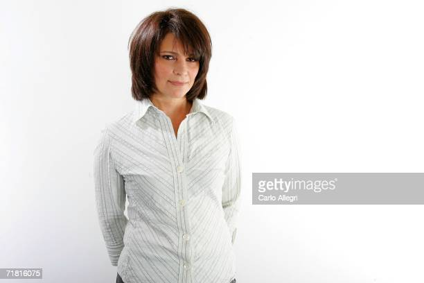 Actress Alberta Watson poses for portraits in the Chanel Celebrity Suite at the Four Season hotel during the Toronto International Film Festival on...