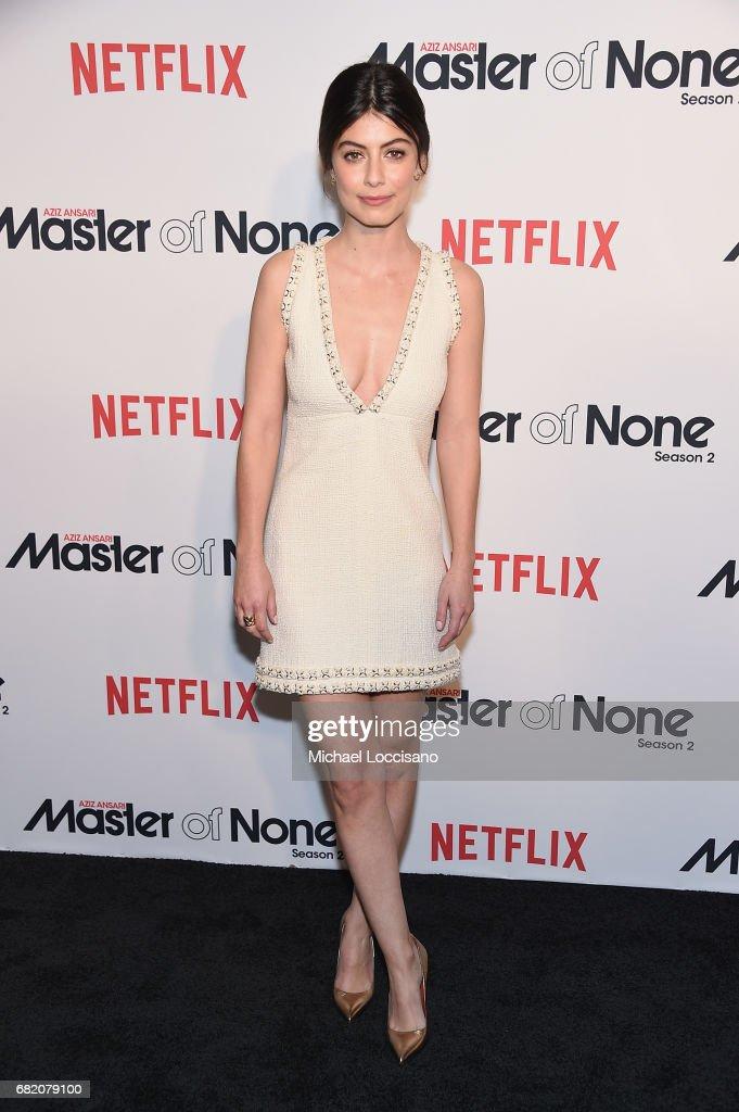 Actress Alessandra Mastronardi attends the Netflix Master Of None S2, Premiere NY Screening 2017 on May 11, 2017 in New York City.