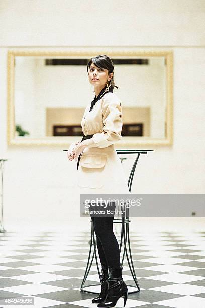 Actress Alessandra Mastronardi is photographed for Self Assignment on February 10 2015 in Berlin Germany Mandatory credits total look Louis Vuitton /...