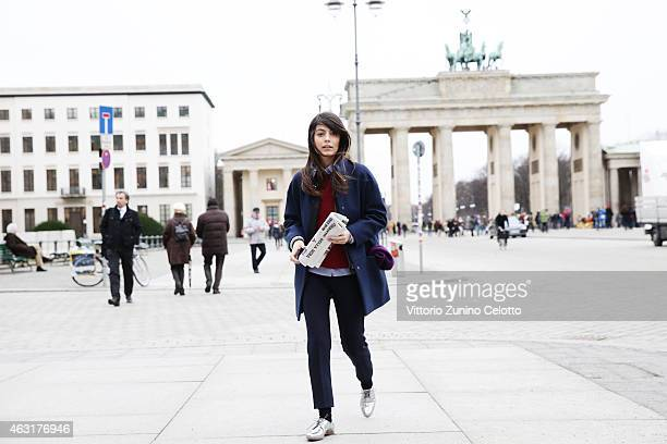 Actress Alessandra Mastronardi is seen on February 10 2015 in Berlin Germany