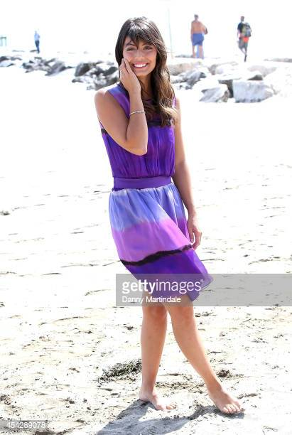 Actress Alessandra Mastronardi is seen on the beach on Day 2 of the 71st Venice International Film Festival on August 28 2014 in Venice Italy