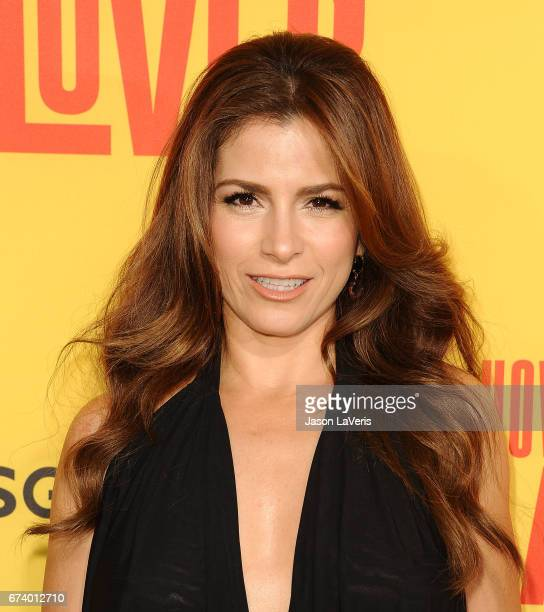 Actress Alessandra Rosaldo attends the premiere of 'How to Be a Latin Lover' at ArcLight Cinemas Cinerama Dome on April 26 2017 in Hollywood...