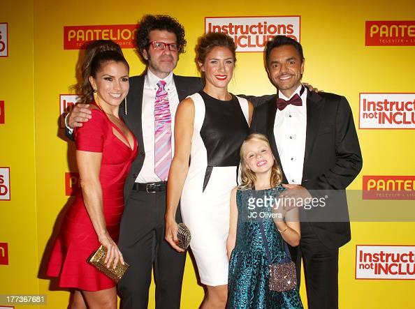 Actress Alessandra Rosaldo Filmmaker Daniel Raymont actors Jessica Lindsey Loreto Peralta and Eugenio Derbez attend Los Angeles Premiere of...