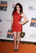 Actress Alessandra Torresani arrives at the 17th Annual Race to Erase MS event cochaired by Nancy Davis and Tommy Hilfiger at the Hyatt Regency...