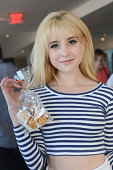 Actress Alessandra Torresani attends Kari Feinstein's Style Lounge presented by Paragon at Andaz West Hollywood on August 22 2014 in Los Angeles...