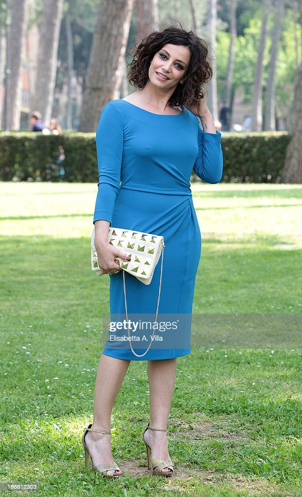 Actress Alessia Barela attends 'Viaggio Sola' photocall at Villa Borghese on April 17, 2013 in Rome, Italy.