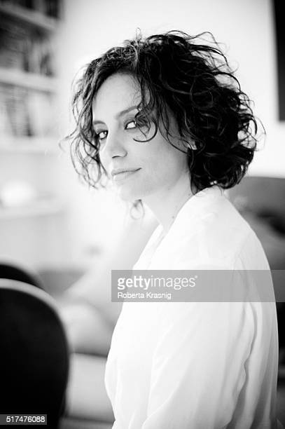 Actress Alessia Barela is photographed for Self Assignment on June 08 2012 in Rome Italy
