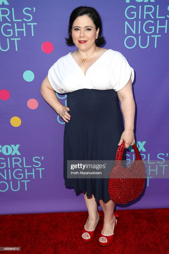 Actress <a gi-track='captionPersonalityLinkClicked' href=/galleries/search?phrase=Alex+Borstein&family=editorial&specificpeople=549866 ng-click='$event.stopPropagation()'>Alex Borstein</a> attends Fox's 'Girls Night Out' at Leonard H. Goldenson Theatre on June 9, 2014 in North Hollywood, California.