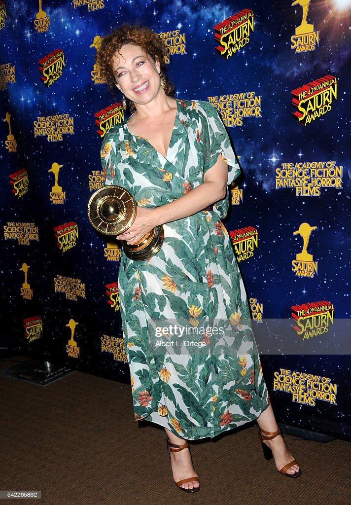 42nd Annual Saturn Awards - Press Room