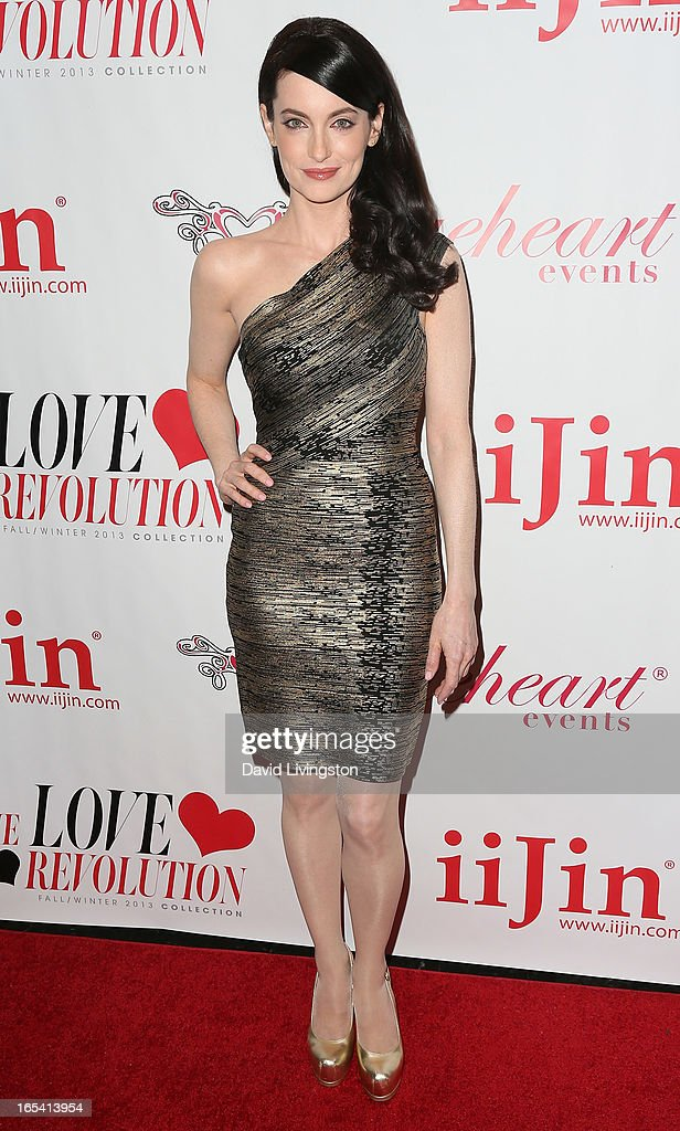 Actress Alex Lombard attends iiJin's Fall/Winter 2013 'The Love Revolution' fashion show at Avalon on April 3, 2013 in Hollywood, California.