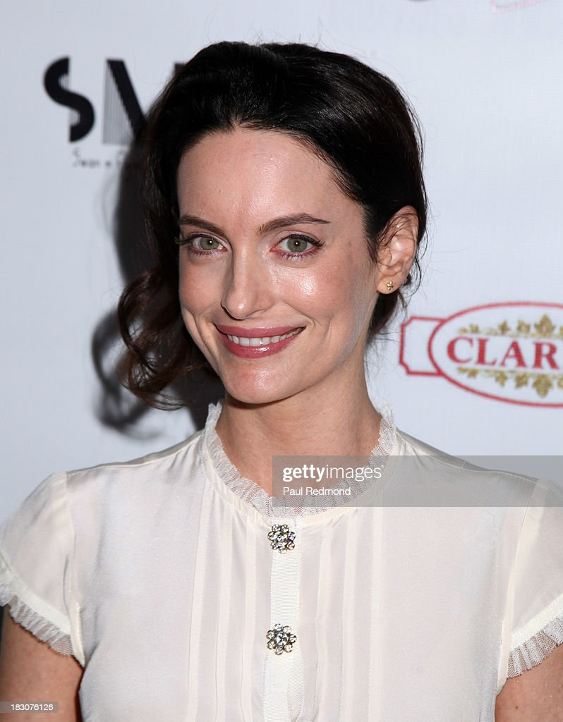 Actress <a gi-track='captionPersonalityLinkClicked' href=/galleries/search?phrase=Alex+Lombard&family=editorial&specificpeople=9472161 ng-click='$event.stopPropagation()'>Alex Lombard</a> attends Jane Seymour Art Exhibition Opening Benefiting Open Hearts Foundation at Gallerie Sparta on October 3, 2013 in West Hollywood, California.