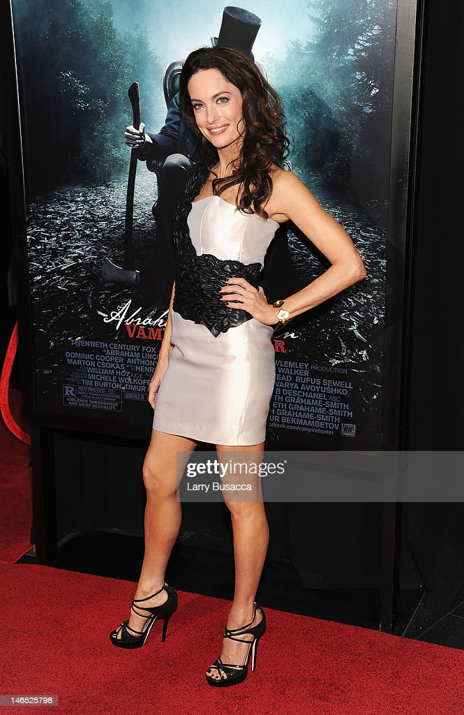 Actress Alex Lombard attends the 'Abraham Lincoln: Vampire Slayer 3D' New York Premiere at AMC Loews Lincoln Square 13 theater on June 18, 2012 in New York City.