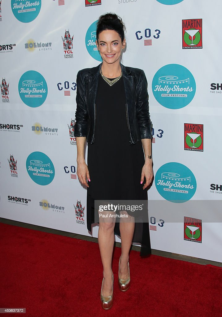 Actress <a gi-track='captionPersonalityLinkClicked' href=/galleries/search?phrase=Alex+Lombard&family=editorial&specificpeople=9472161 ng-click='$event.stopPropagation()'>Alex Lombard</a> attends the HollyShorts opening night gala at the TCL Chinese Theatre on August 14, 2014 in Hollywood, California.