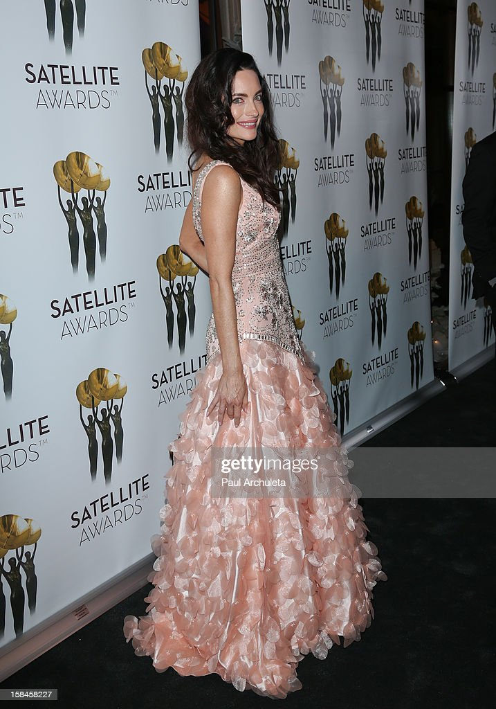 Actress Alex Lombard attends the International Press Academy's 17th Annual Satellite Awards at InterContinental Hotel on December 16, 2012 in Century City, California.