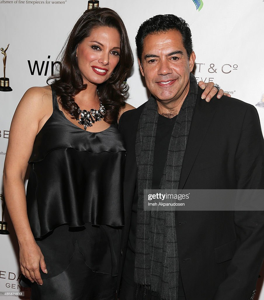 Actress Alex Meneses (L) and actor Carlos Gomez attend the 2013 Women's Image Awards at Santa Monica Bay Womans Club on December 11, 2013 in Santa Monica, California.