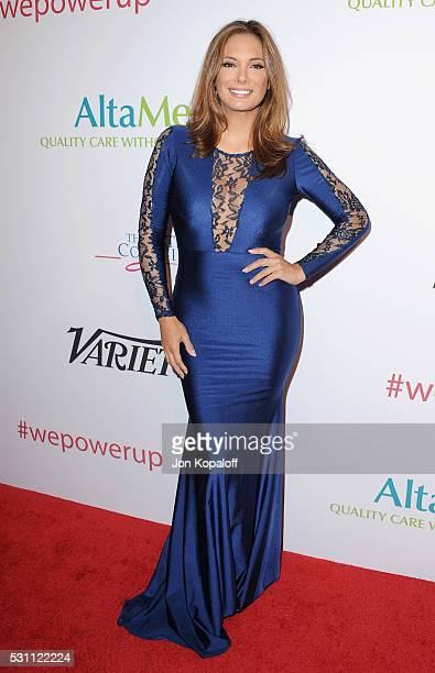 Actress Alex Meneses arrives at AltaMed Health Services' Power Up We Are The Future Gala at the Beverly Wilshire Four Seasons Hotel on May 12 2016 in...