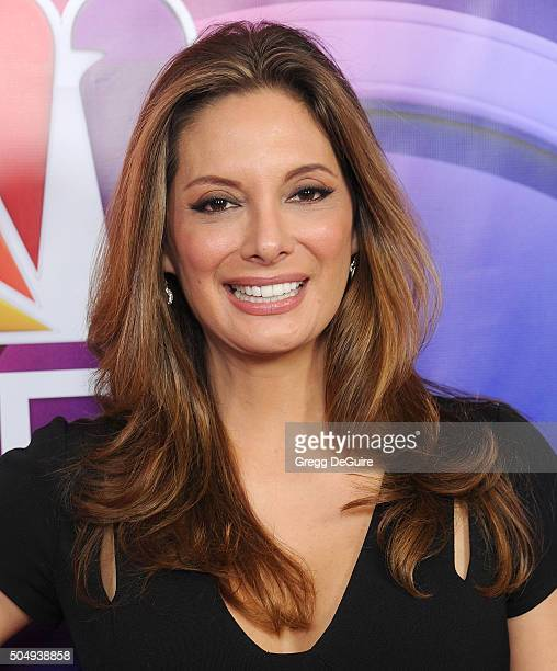 Actress Alex Meneses arrives at the 2016 NBCUniversal Winter TCA Press Tour at Langham Hotel on January 13 2016 in Pasadena California