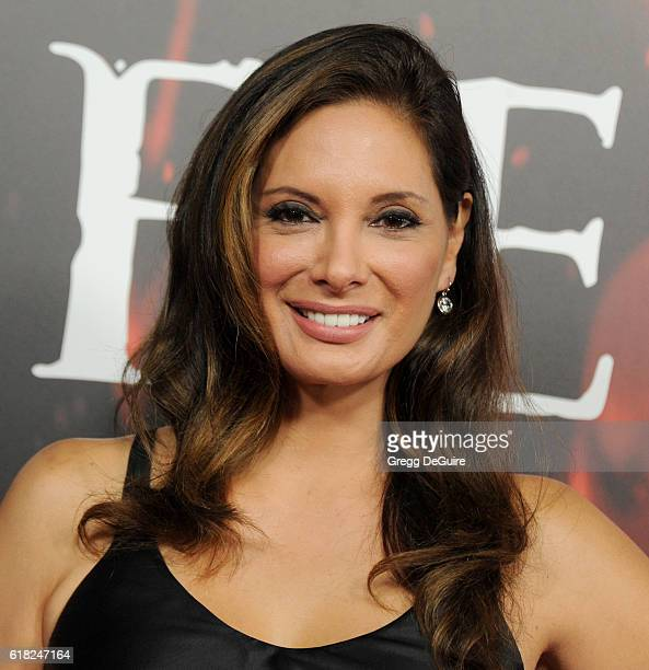 Actress Alex Meneses arrives at the screening of Sony Pictures Releasing's 'Inferno' at DGA Theater on October 25 2016 in Los Angeles California