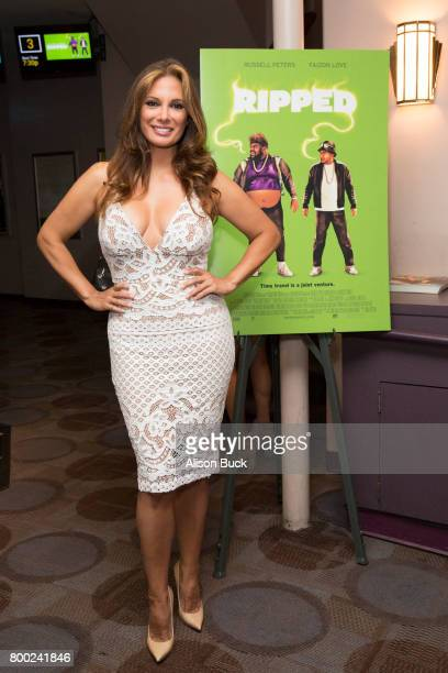Actress Alex Meneses attends 'Ripped' Premiere at Laemmle's Music Hall 3 on June 23 2017 in Beverly Hills California