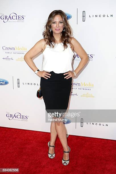 Actress Alex Meneses attends the 41st Annual Gracie Awards at Regent Beverly Wilshire Hotel on May 24 2016 in Beverly Hills California