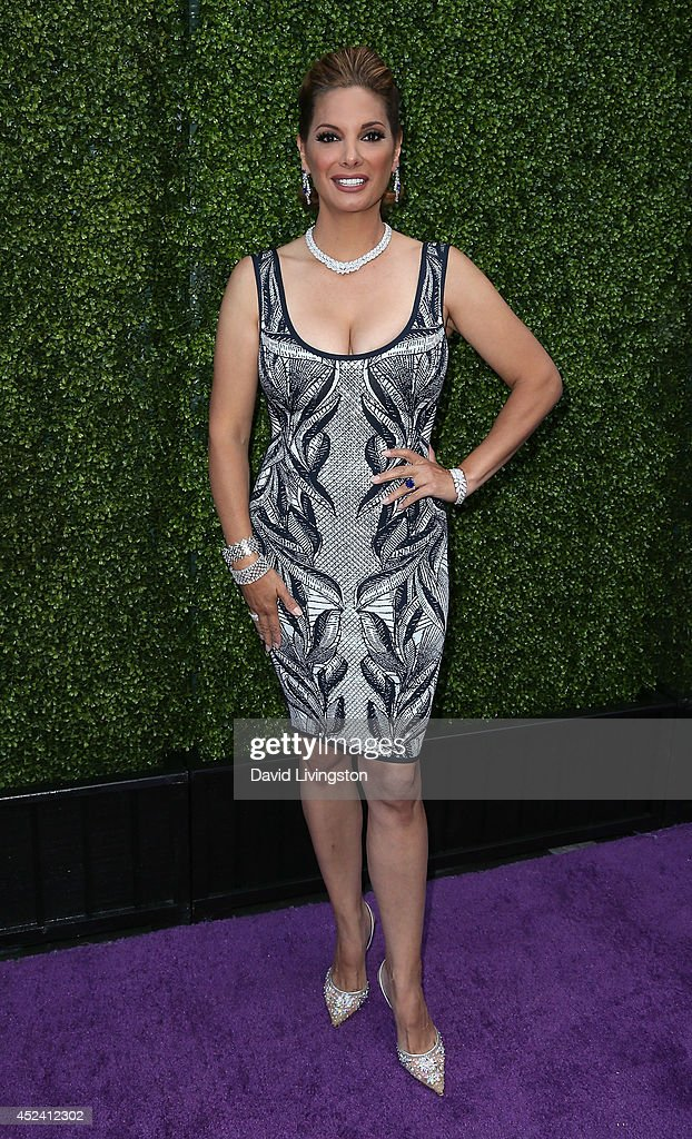 Actress <a gi-track='captionPersonalityLinkClicked' href=/galleries/search?phrase=Alex+Meneses&family=editorial&specificpeople=837191 ng-click='$event.stopPropagation()'>Alex Meneses</a> attends the HollyRod Foundation's 16th Annual DesignCare at The Lot Studios on July 19, 2014 in Los Angeles, California.